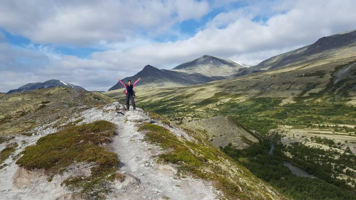 Trois jours de trek dans le Parc national du Rondane en Norvège.